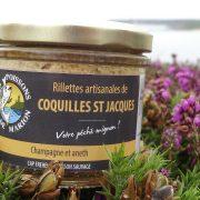 rillettes de Coquilles Saint Jacques
