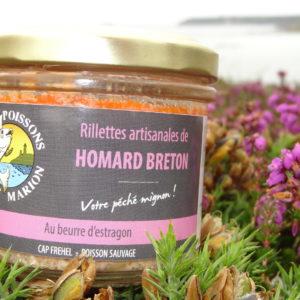 rillettes de homard breton