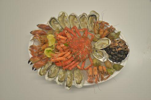 Nos plateaux de fruits de mer